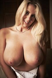 alluring blonde gal ready