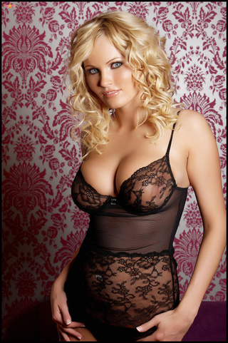 black, curly haired, individual model, lingerie
