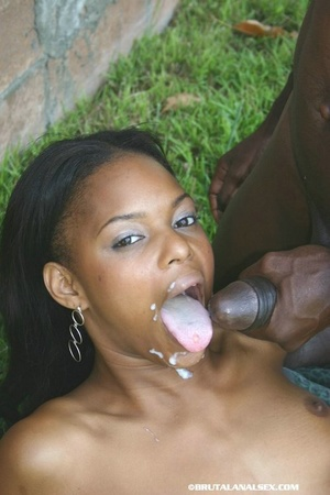 Naughty ebony babe gets her stretched as - XXX Dessert - Picture 15