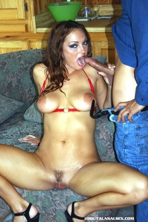 Babe with big tits goes on different pos - XXX Dessert - Picture 2