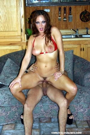 Babe with big tits goes on different pos - XXX Dessert - Picture 5