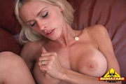 hot blonde bimbo gets