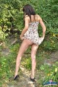 dress, individual model, pussy, wild