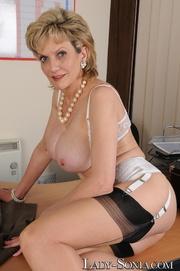 sexy vixen showing off