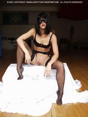 mistress black mask and