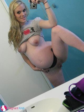 delicious pregnant blonde fat