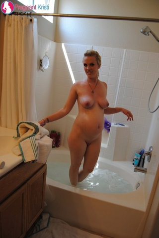 hot pregnant blonde dirty