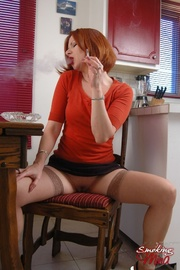 redhead whore red top