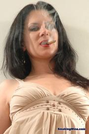 brunette hottie white top