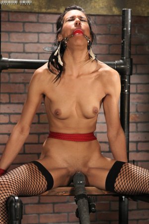 Foxy chick with juicy tits and steaming  - XXX Dessert - Picture 9