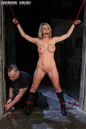 Luscious blonde bares her lusty boobs an - XXX Dessert - Picture 9