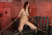 gorgeous redhead with smoking