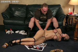 Gorgeous hottie teases her man as she ta - XXX Dessert - Picture 7