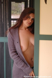 alluring babe taked off