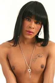 black haired tranny showing