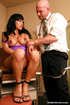 Tattooed tranny slut gets rammed by a handsome doctor