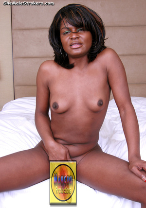 Slender black shemale wants to display h - XXX Dessert - Picture 3