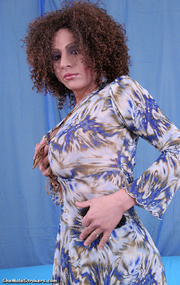 curly haired tranny high