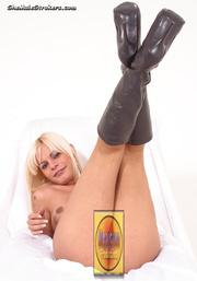 super hot blonde t-girl