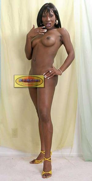 Super fine black trans lady bares her se - XXX Dessert - Picture 4