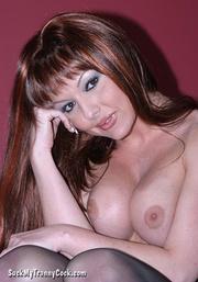 dominant brunette shemale gets