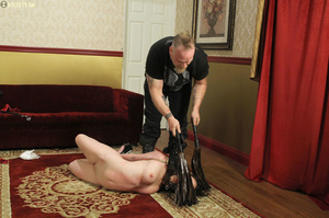 Hark hair slut tied, upturned and hung g - XXX Dessert - Picture 10