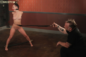 Cute butte brunette roped and bound gets - XXX Dessert - Picture 12