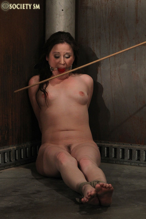 Cherry brunette roped, chained, hung, ca - XXX Dessert - Picture 5