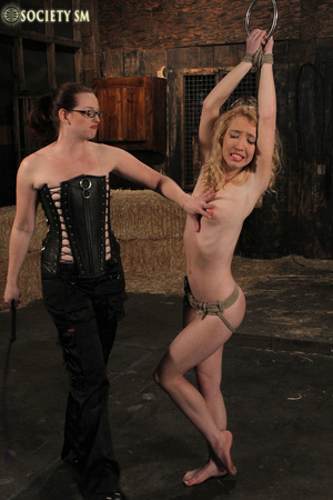 Cute blonde bound, clipped and humiliate - XXX Dessert - Picture 7