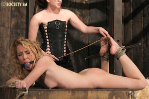 Cute blonde bound, clipped and humiliate - XXX Dessert - Picture 14