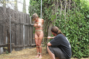 Shapley babe stripped, roped, manhandled - XXX Dessert - Picture 15