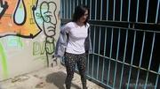 dark hair babe jeans