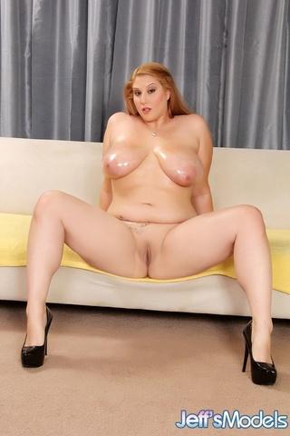 Tall busty pornstar