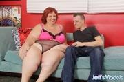 big redhead pink and