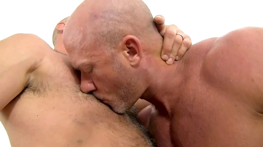 Hairy Stud Sucking And Fucking Another Guy