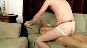 White beard man gets his cock sucked the - XXX Dessert - Picture 14
