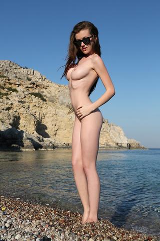Nude girl real mermaid