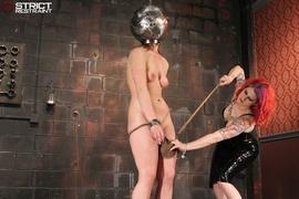 balls, bondage, tits, vibrator