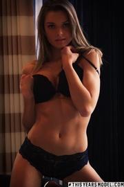 pretty hottie black lingerie