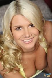 stunning blonde cougar takes