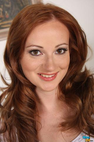 innocent redhead naughty face