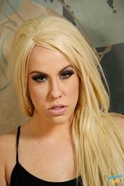 alluring blonde milf humps