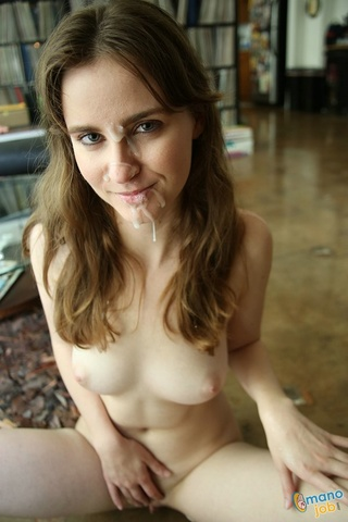 naughty young babe teases