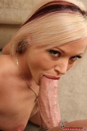shair haired blonde slut
