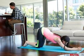 big butt, group sex, teens, yoga