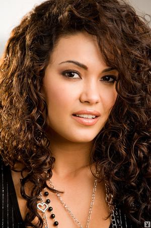 Curly hair brunette is hot black dress a - XXX Dessert - Picture 1