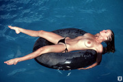 lovely nude boat rider