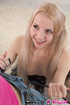 pigtailed blonde black corset