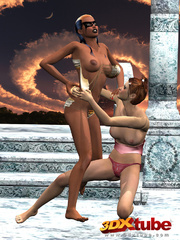 Two horny fighters get intimate and pleasure each - Picture 3