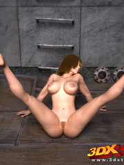 Chick gets fucked by a robot and two others tease - Picture 6